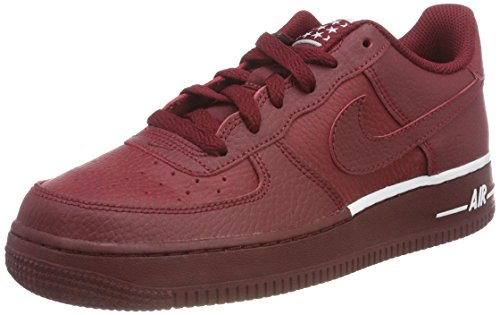 ir Force 1 (GS) Sneaker, Rot Team Red-White 627, 38.5 EU ()