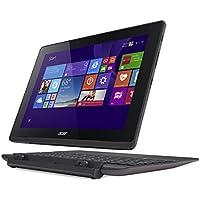 "Acer Aspire Switch 10 E SW3-013 - Portatíl 2 en 1 de 10.1"" (Intel Z3735F, 2 GB de RAM, Disco SSD 32 GB, Windows 8.1 ), gris - Teclado QWERTY Español"