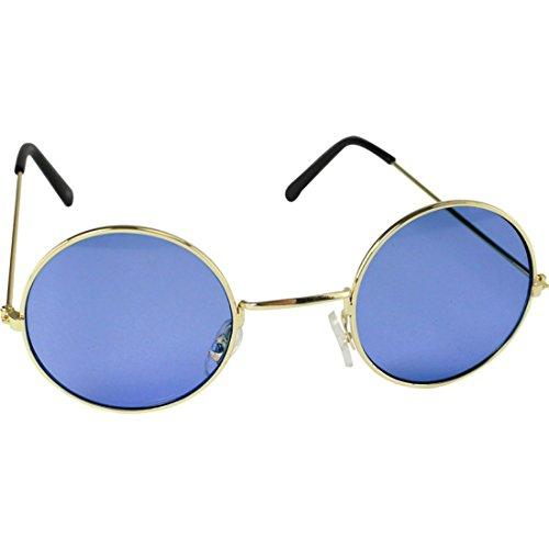 Ozzy Kostüm Osbourne - Pour enfants garçons filles Lennon Rond Hippie Lunettes de soleil Lunettes de déguisement