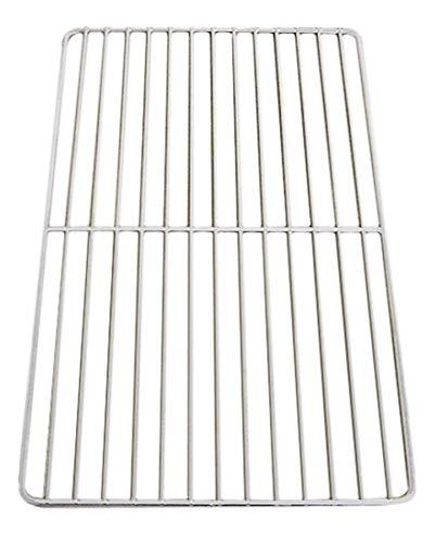 Gitterrost GN 1/1 TxB 530x325 mm weiß Stahl kunststoffbeschichtet Kühlschrank