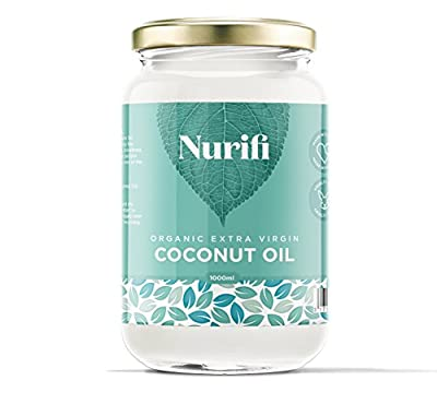 1KG Organic Extra Virgin Coconut Oil - Pure, Raw & Cold Pressed from Nurifi - Read Reviews