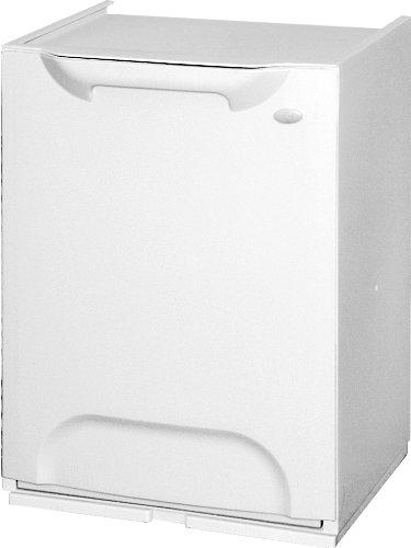 Art Plast R34 - Cubo dereciclaje de plástico apilable, color blanco