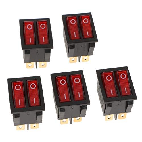 Sharplace 100A Batterie Ma/ître D/éconnecter Rotatif Coup/é Interrupteur Isolateur Switch