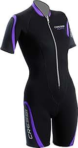 Cressi Playa Ladies Short Premium Neoprene Wetsuit, Small