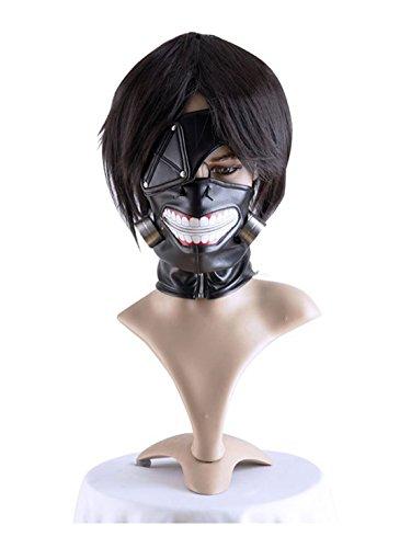 COSPLAZA Tokyo Ghoul Maske Ken Kaneki Fasching Karneval Party Schwarz Kostüme Masken (Ghoul Kostüm Jungen)