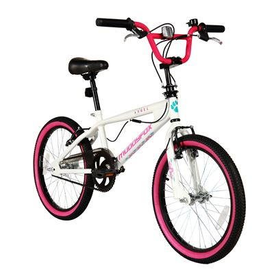 "Muddyfox Angel 11"" Frame Bmx - White/pink (20"" Wheel)"