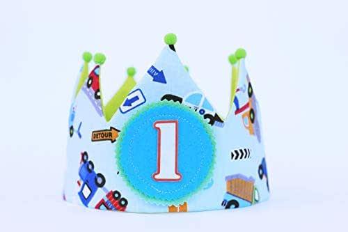 Cappellino compleanno 1 anno Corona del bambino di compleanno, ornamento di fotografia, regalo di compleanno