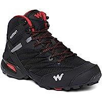 Wildcraft Men's RuNX TR Hugo Black_Red Trekking&Hiking Shoes (51657) - 10 UK/India (44 EU) (11 US)