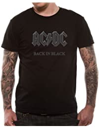 Ac/Dc - AC/DC - BACK IN BLACK - T-shirt Homme