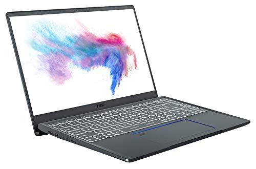MSI Prestige 14 A10SC-009 (35,6 cm/14 Zoll/4K-UHD/100% Adobe RGB) Creator Laptop (Intel Core i7-10710U, 16GB RAM, 1TB PCIe SSD, Nvidia GeForce GTX1650 4GB, Windows 10 Pro)