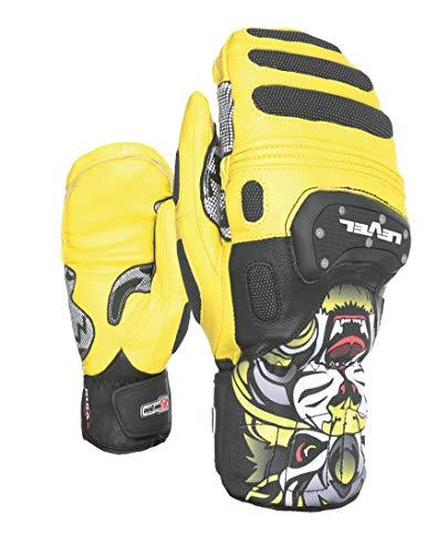 Level Herren SQ CF Mitt Handschuhe, Yellow, 8 - Level-herren Race-handschuh