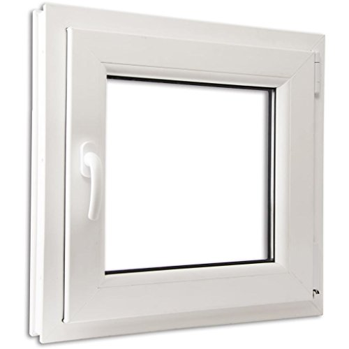 vidaXL Anta Ribalta Finestra PVC Manico Sinistra con doppi vetri 600 x...