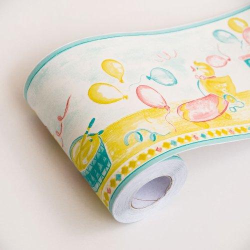 Papier peint autocollant pour enfant Paradise - Bordures Décoration de maison (rouleau)