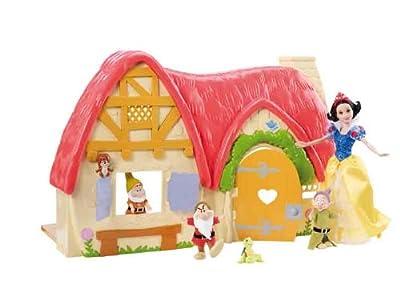 Mattel V1836 Princesas Disney - La casa de Blancanieves y los 7 enanitos de Mattel