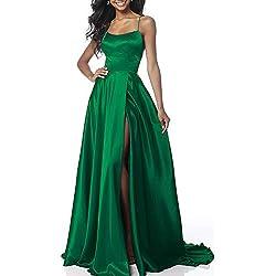 Aofur Vestido de cóctel para Mujer, Vintage, Elegante, Vestido de Noche, Vestido de Baile de graduación, Vestido Largo de Gasa para Dama de Honor, Tallas 36 a 48