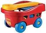 Unbekannt Ecoiffier-France Kinder Bollerwagen mit 60 -Kleinkind-Bausteine