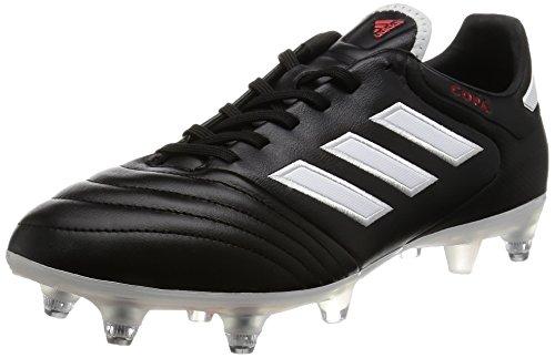 adidas Copa 17.2 SG Scarpe da Calcio Uomo, Nero FTW White/c Black, 39 1/3 EU