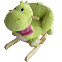Forever Speed Baby Rocking Horse Kids Animal Rocking Horse Toys Children Toddler toy, Animal Sound design with Soft Seat