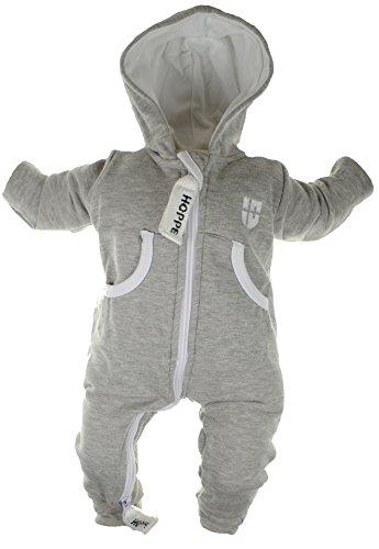 Gennadi Hoppe Baby Jumpsuit - Overall, hellgrau, 12-18 -