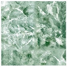 Magic Cover Adhesive Vinyl Contact Paper for Shelf Liner, Drawer Liner and Arts and Crafts Projects - 18 inches by 9 feet per roll, Emerald Green Marble Pattern by Magic Cover (Shelf Liner Green)
