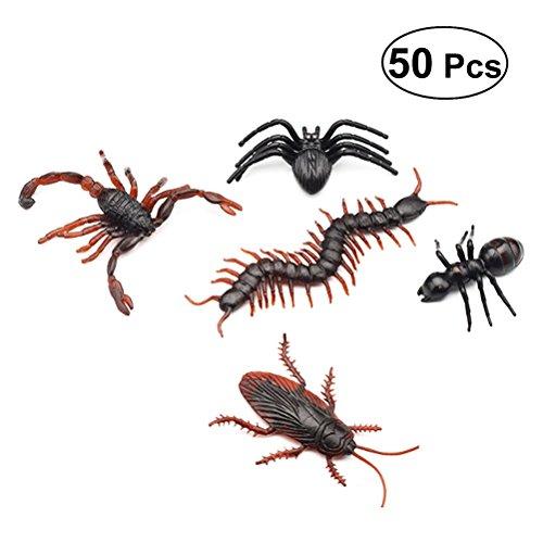 ff Fake Insekten Realistische Bugs Simulation Kleine Animal für Halloween Party begünstigt, und Dekoration ()