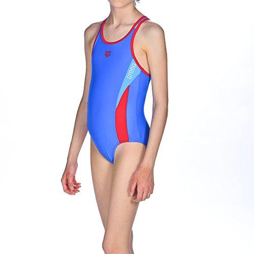 ARES5niña Arena Sport hipnos-Bañador, niña, Arena Mädchen Sport Badeanzug Hypnos, pix Blue-Red-Turquoise...