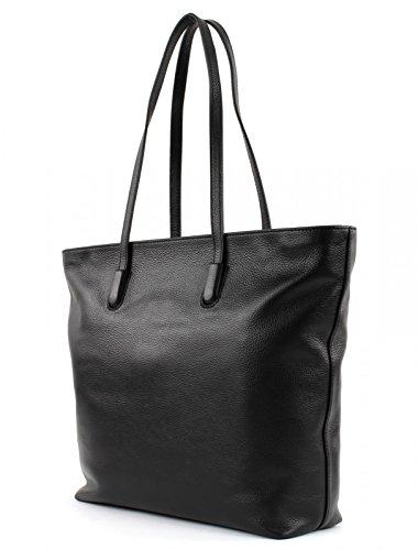 COCCINELLE CLEMENTINE SOFT DOUBLE SHOULDER BAG BF8110301 Nero Comprar Precios Baratos YZUhPAQ4n