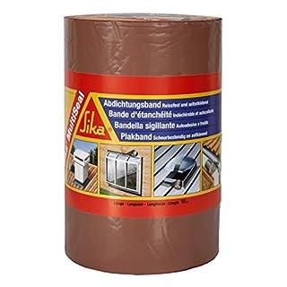Sika Multiseal, Bande d'étanchéité autocollante résistante à la déchirure, 225mm x 10m, Terre cuite