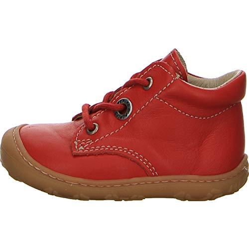 RICOSTA Unisex - Baby Roxy Lauflernschuhe Größe 23 EU Rot (rot)
