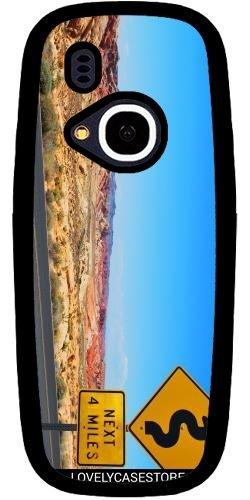 Hülle für Nokia 3310 2017 - Straße USA USA Drehen Vereinigte Staaten Wüste Arid Sun Sky Blue
