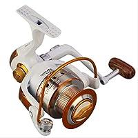 UICICI Spinning Angelrolle 12 1 Lager Links//rechts austauschbarer Griff f/ür das Salzwasser-S/ü/ßwasserfischen mit Doppelbremssystem