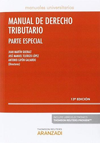 Manual de Derecho Tributario. Parte Especial por From Editorial Aranzadi