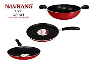 Navrang Non-Stick 3-Piece Gift Set