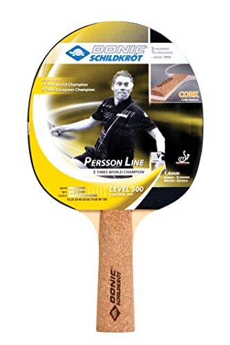 Donic Schildkröt Tischtennis-Schläger PERSSON 500 (mit Kork-Griff), 728451