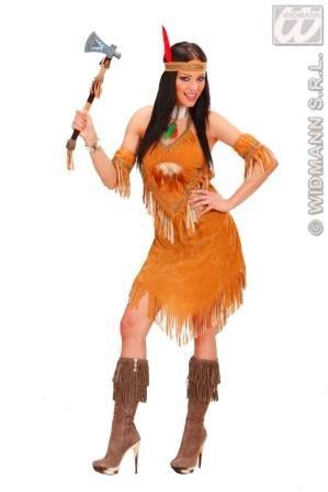 Indianerin indiana Deluxe Fasching S Kostüm