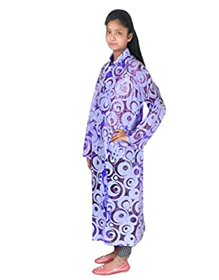 Krystle Women's Printed Overcoat|Raincoat with Cap