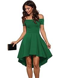 best service 153ef d4f8c Amazon.it: vestito verde - Vestiti / Donna: Abbigliamento