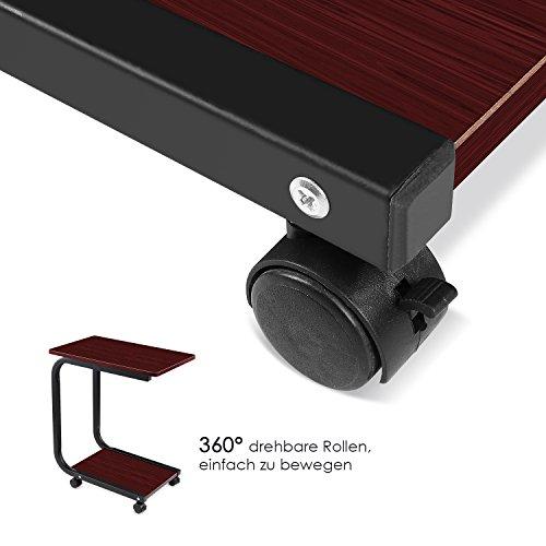 beistelltisch u form holz bestseller shop f r m bel und einrichtungen. Black Bedroom Furniture Sets. Home Design Ideas