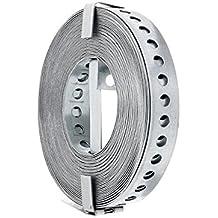 1 Rolle/10m (0,29€/m) Lochband Montageband verzinkt 12mm breit