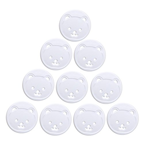 Manyo Steckdosenabdeckung für Babys, 10 Stück
