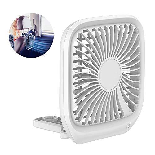 QYWSJ Ventilador de Enfriamiento USB,Mini Ventilador Eléctrico, Plegable 3 Velocidades para Asientos...