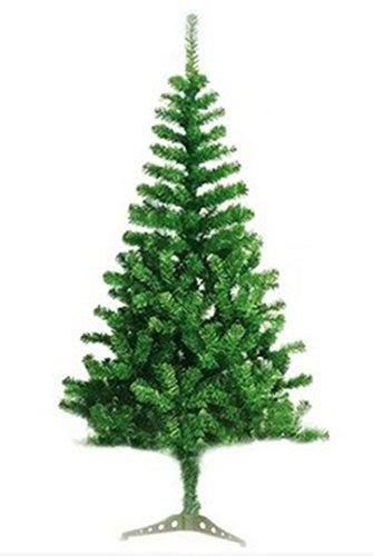 Árbol de Navidad Artificial árboles C/Soporte plástico 120-210cm (Verde, 150cm 293Tips)