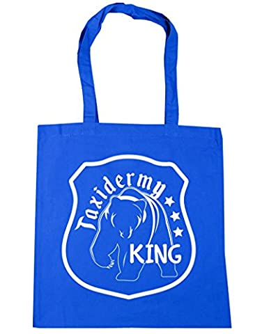 HippoWarehouse Taxidermy King Tote Shopping Gym Beach Bag 42cm x38cm, 10 litres