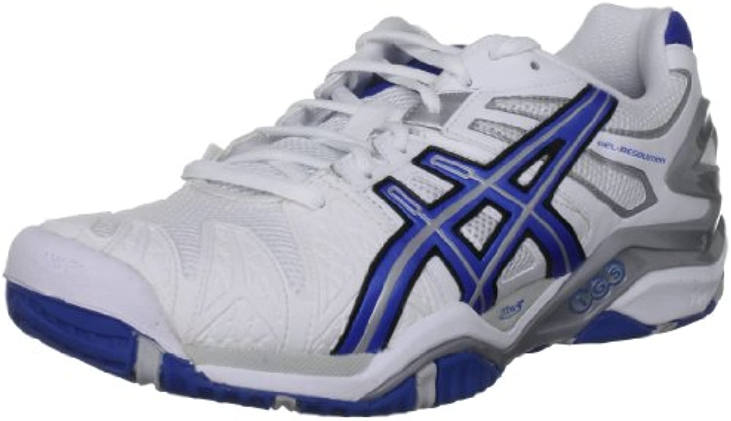 Asics Herren Gel Resolution Tennisschuhe  Blau