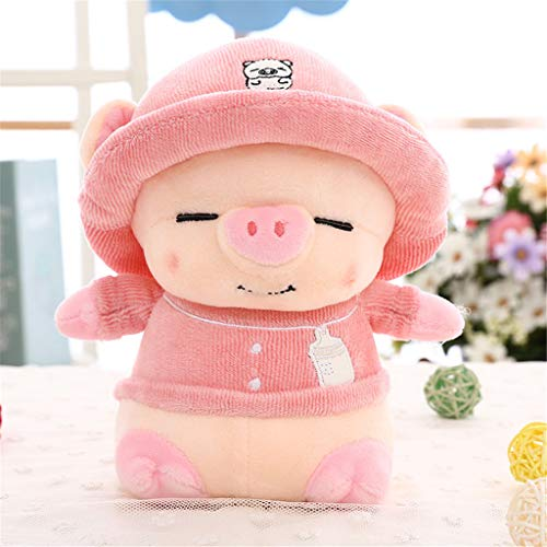 Miss Zhang's shop Peluches Cuscino Bambola Peluches Carino Cuscino Comfort Sonno 45Cm Rosa Peluche Giocattoli