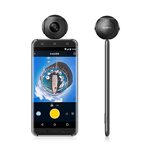 Insta360 Air Compact Mini Panorama 360 Grad 3K HD Kamera Dual Weitwinkel-Fischaugen-Objektiv VR Modus für OPPO R9 / Huawei P9 Mate9 / LG V20 Andriod Smartphone - 2