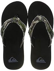 Quiksilver Monkey Abyss, Zapatos de Playa y Piscina para Hombre