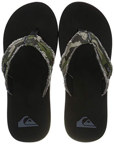Quiksilver Monkey Abyss, Zapatos de Playa y Piscina para Hombre, Verde Green/Brown/Black Xgck, 46...