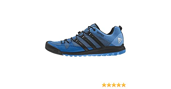 9222dc1d400 adidas Terrex Solo Performance men s outdoor hiking shoes Blue AF5963