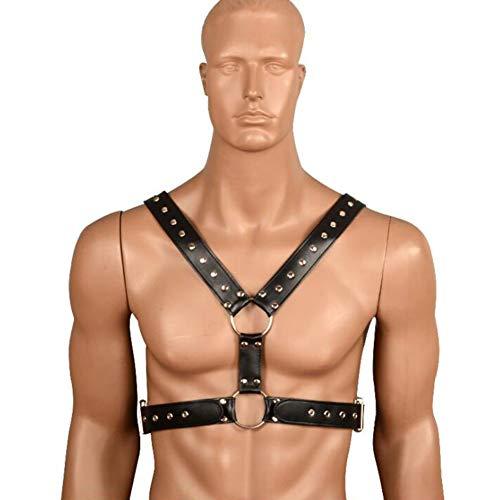 SOFT-L Männer Kostüm Herren Bondage Fetisch Leder Arm -